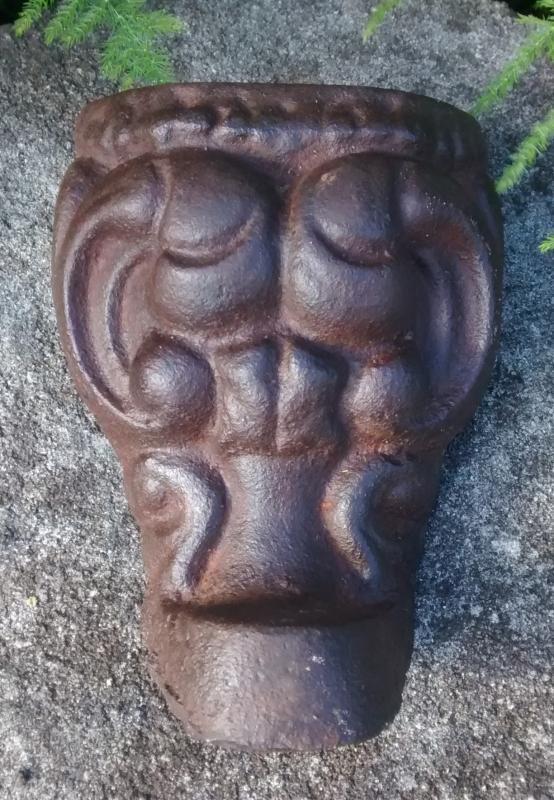 Antique Cast Iron Stove/Tub Leg Scroll Design 1800s 5