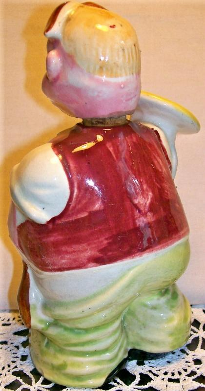 Vintage Waiter Figural Liquor/Wine Decanter 1950's Japan