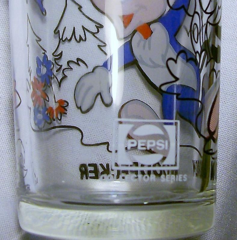 Vintage Pepsi/Walter Lantz Woody Woodpecker Collector's Glass 1970s