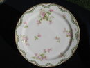 HAVILAND LIMOGES FLORAL CHARGER