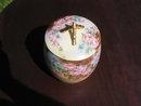 HAND P. T & V    LIMOGES BISCUIT JAR