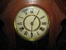 early antique walnut ansonia clock