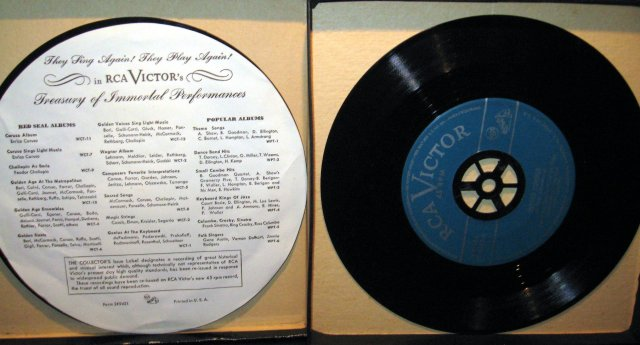 Sammy Kaye & His Orchestra Year 'Round Favorites 45 RPM Record Set in original case