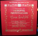 A Treasury of Immortal Performances Dance Bands 45 RPM Record Set in original Case