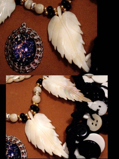 LOT figural jewelry figural dragons necklaces