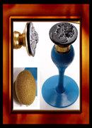 Vintage PAIR DECO DeVILBISS PERFUME BOTTLEs