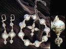 1950's Murano GLass BRacelet NEcklace set