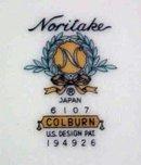 Noritake China Salad Plate Colburn 6107 buy 1 or more