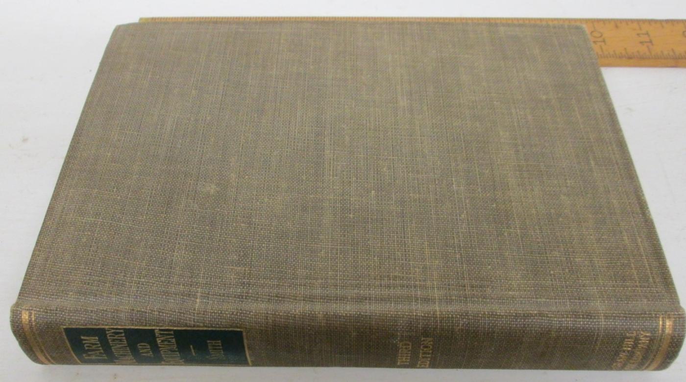 Farm Machinery & Equipment Handbook by Smith 1948