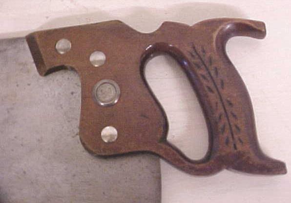Disston Saw K-4 Keystone AIR MASTER Hand-Saw
