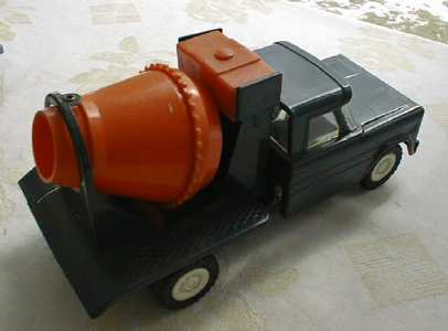 Structo 1960's Cement Mixer Truck