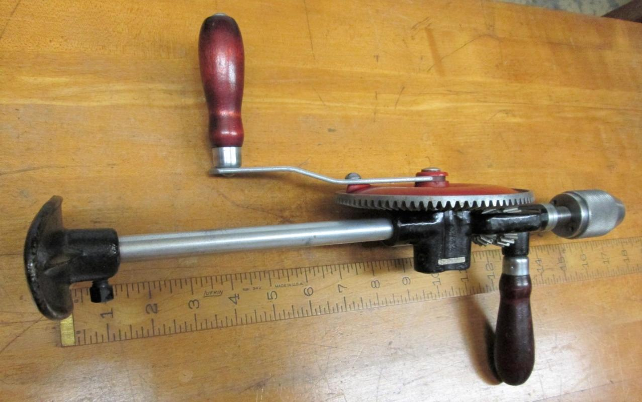 Craftsman Breast Drill 2-Speed Millers Falls