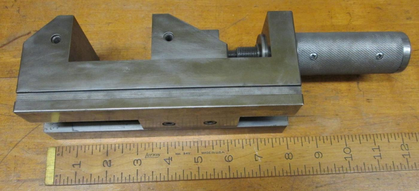 Toolmakers Precision Vise 3.37 inch Capacity