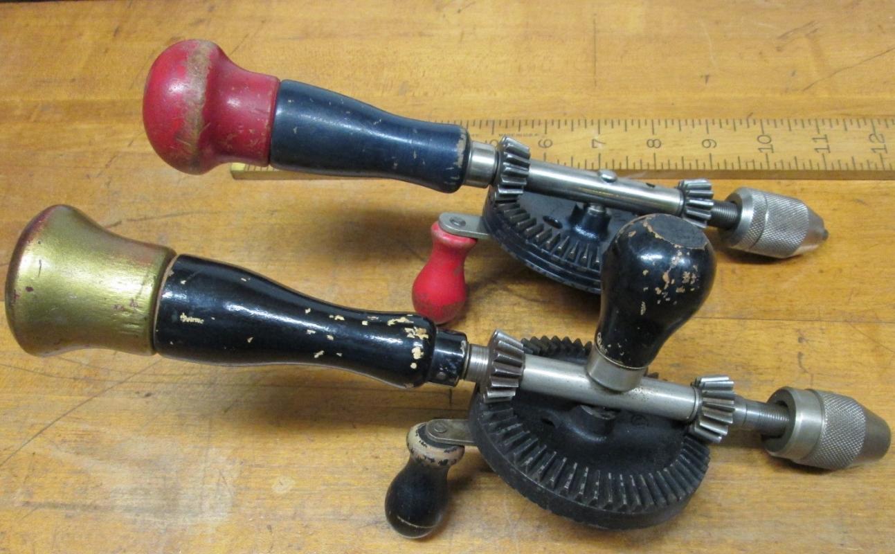 Stanley Hand Drill Egg Beater Grants Dept. Store