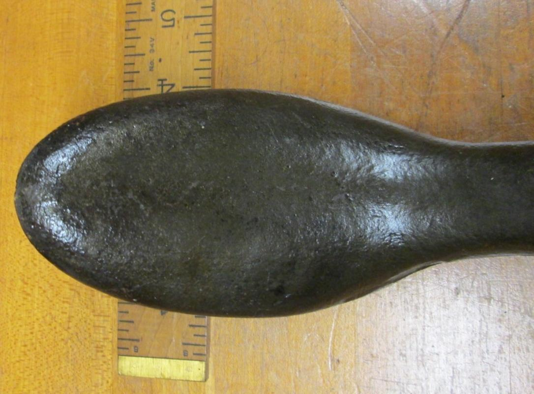 Cobbler's Double Shoelast Shoe Last Iron Rare Type