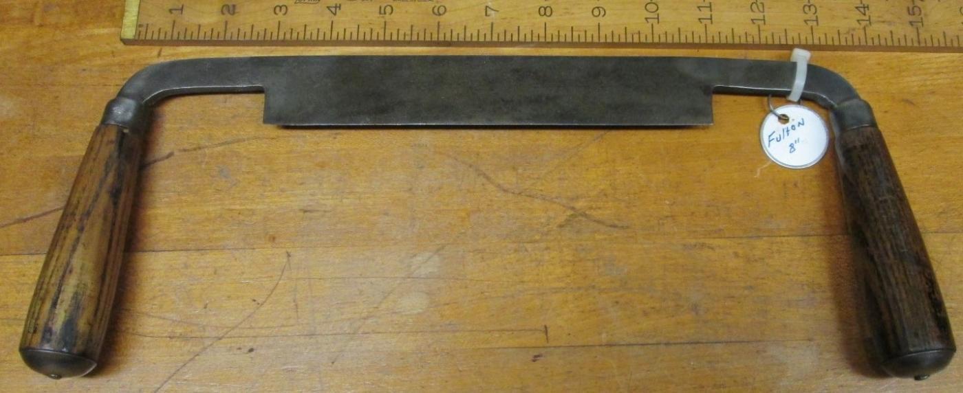Fulton Draw Knife 8 inch Rare!