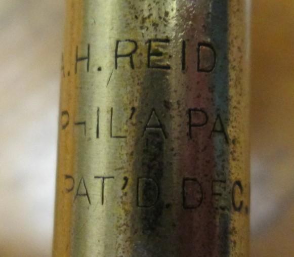 Reid Archimedean Screwdriver Drill w/bits 1880's