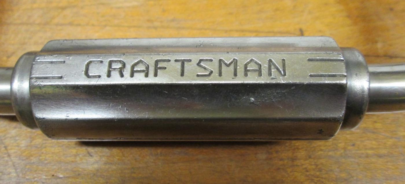 Craftsman Carpenters Ratchet Auger Brace 10 Inch
