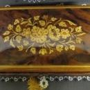 Reuge Music Box Sorrento Italy Inlay Floral