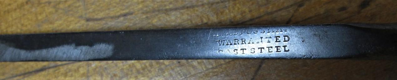 Warranted Steel Socket Firmer Chisel 1/4 inch
