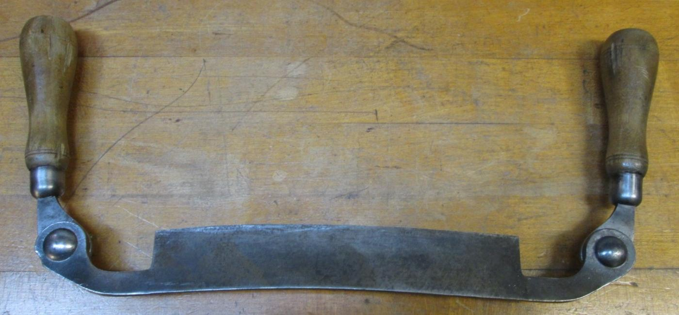 Jennings Draw Knife Folding Handles Arrow Brand 8 inch