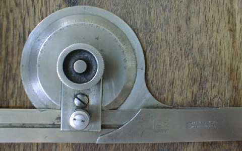 Brown & Sharpe Improved Bevel Protractor 1920's