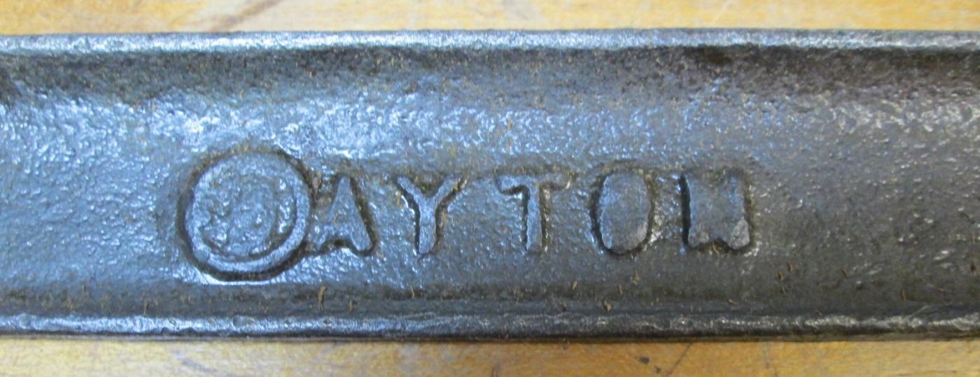 Dayton C-Clamp 8 inch w/Butterfly Wing Screw