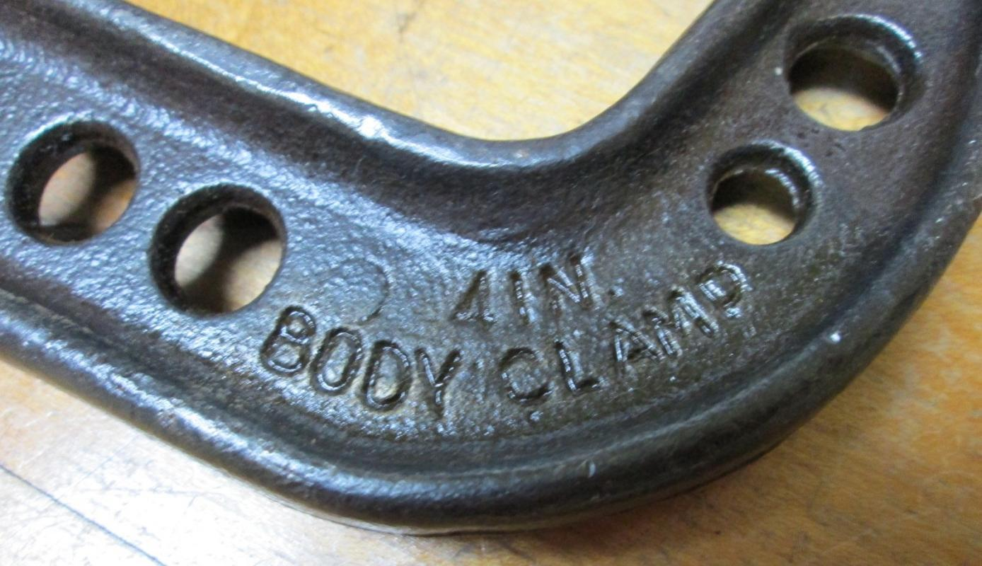 Hargrave C-Clamp 4 inch w/Butterfly Wing Screw No. 605