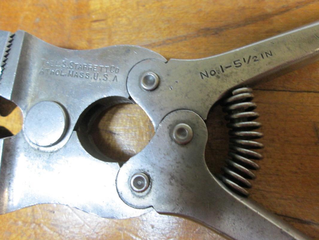 Starrett Wire Cut/Nippers No. 1-5 1/2