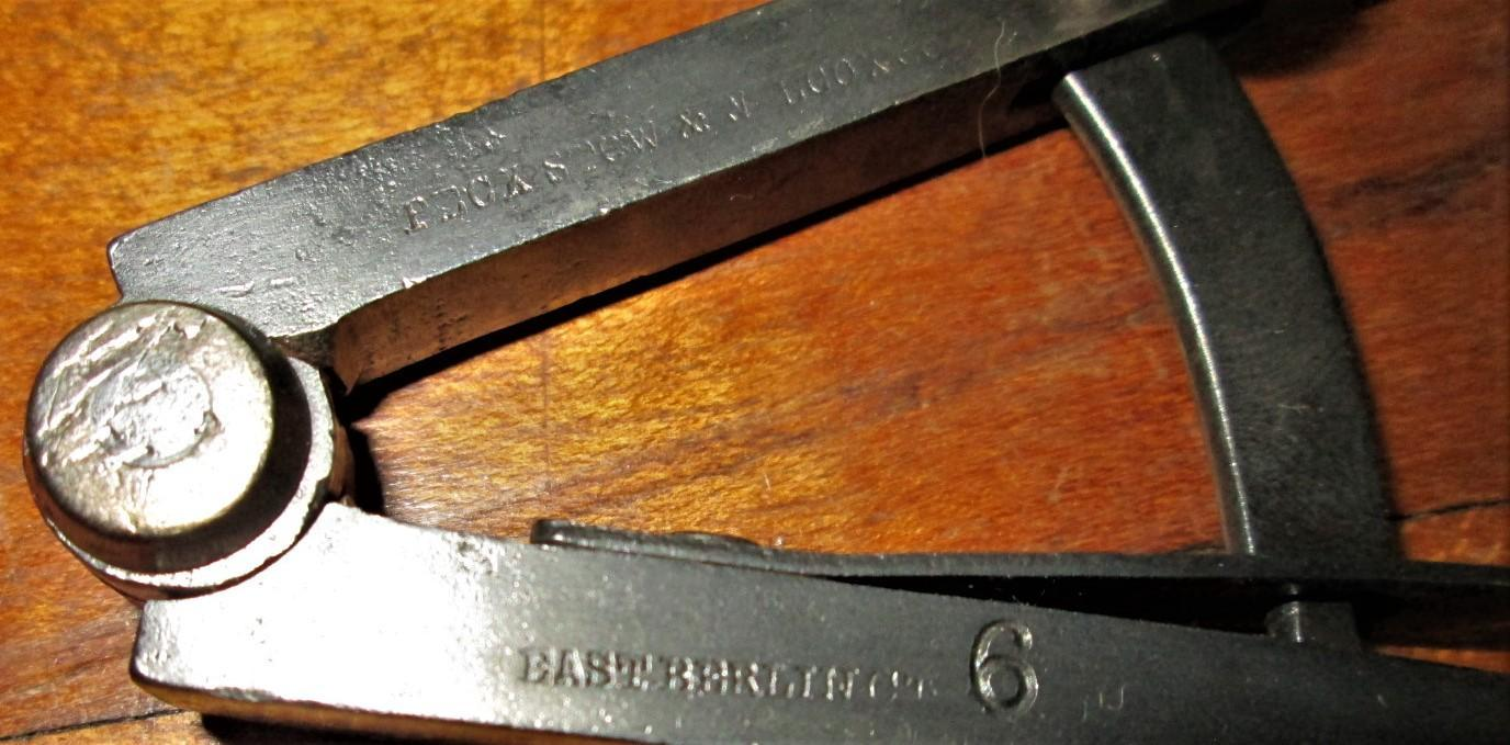 Pexto Wing Divider Peck, Stow, & Wilcox 6 inch Fine Adj
