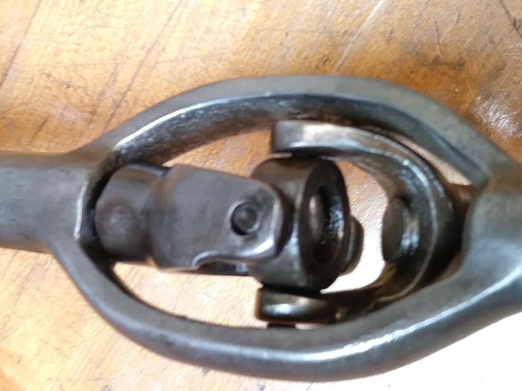 Amidon Corner Auger Brace Large Patent 1884