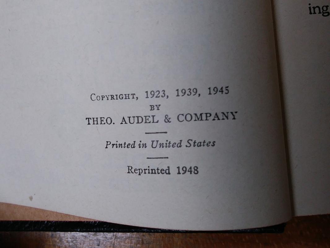 Audels Carpenters & Builders Guide 4 Vol 1948