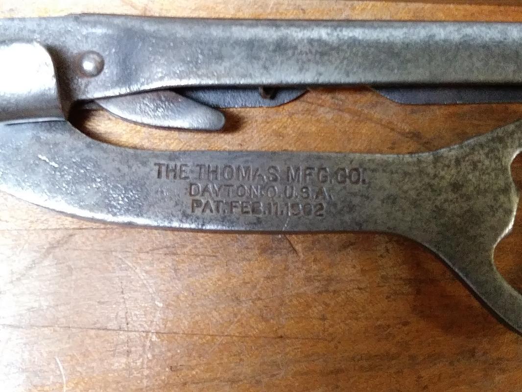 Thomas Mfg. Co. Antique Multi-Tool Pliers