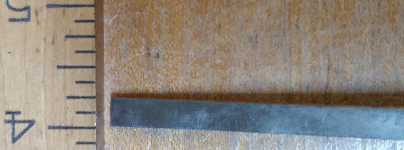 Union Hardware Chisel Socket Beveled 1/4 inch