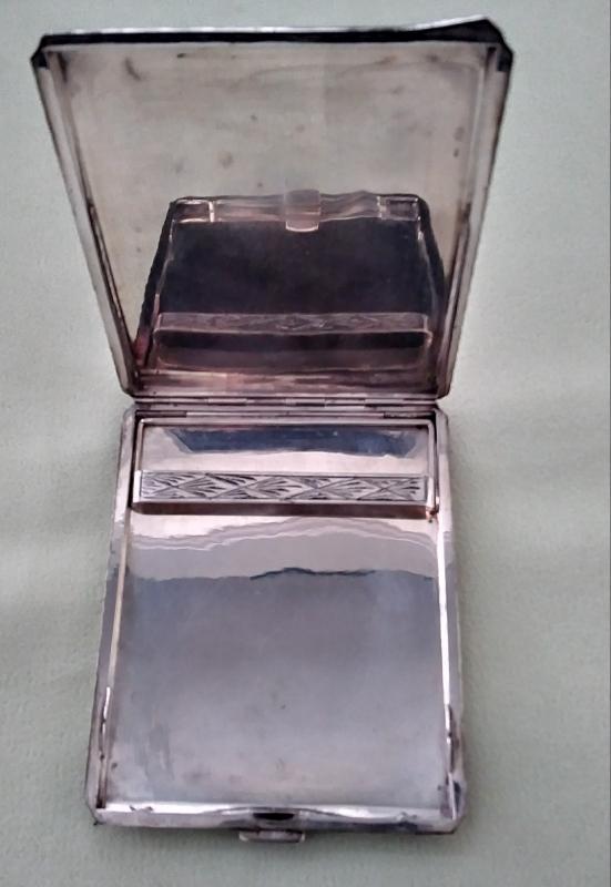 Sterling Silver Cigarette Case Wallet