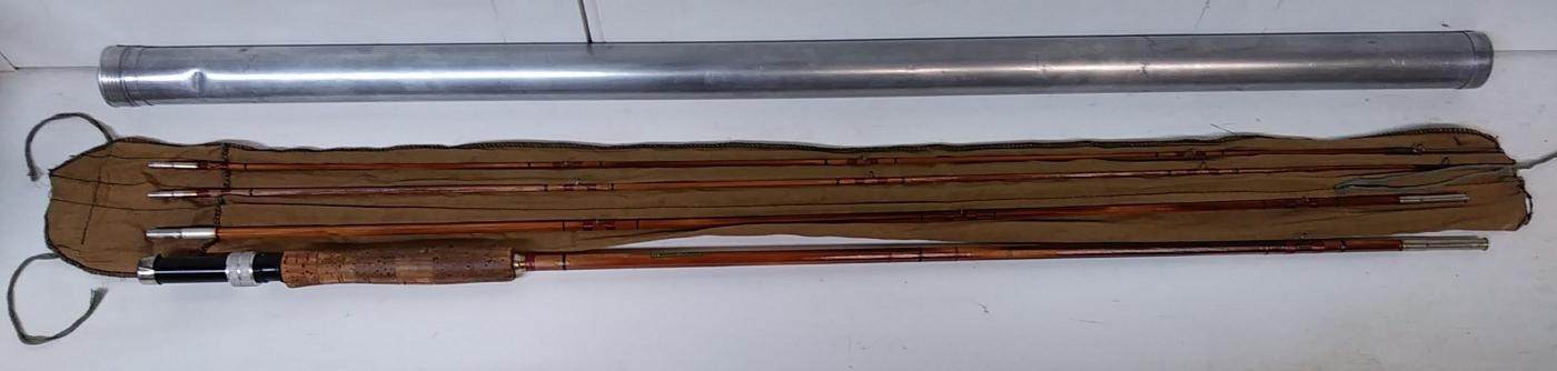 Horrocks - Ibbotson Bamboo/Cane Fly Fishing Rod 3 Pc. 9 ft.