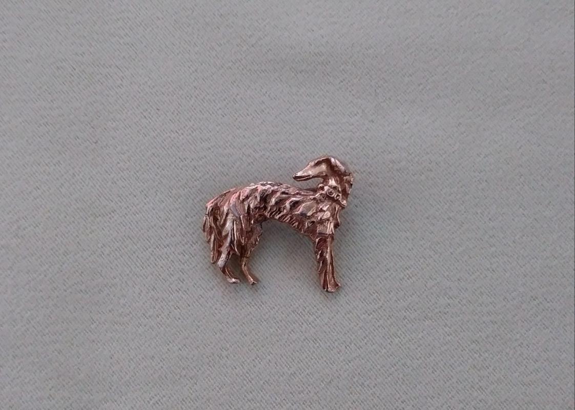 Vintage Dog Brooches 5 PC Rhinestones