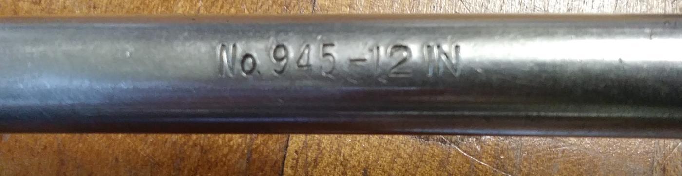 Stanley No. 945-12 IN Ratchet Brace 12 inch swing