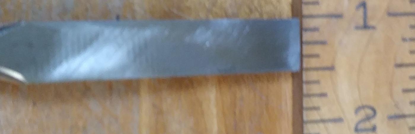 Stanley Butt Chisel 1/2 inch No. 16-608