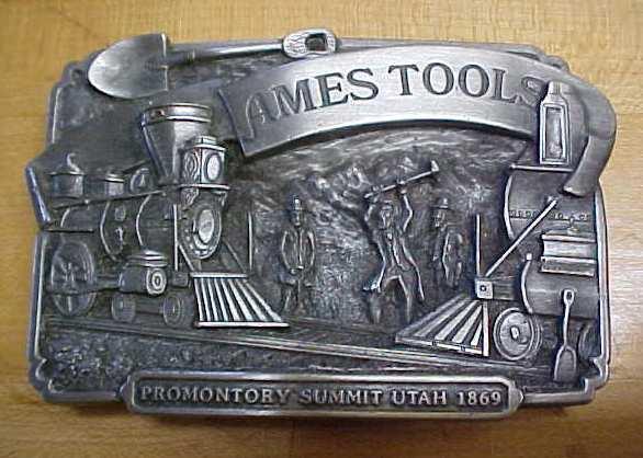 Siskiyou Ames Tools Belt Buckle Utah