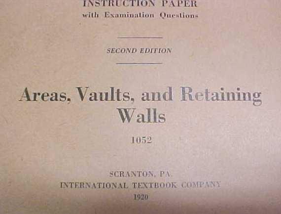 Wall Construction Booklet ICS 1920