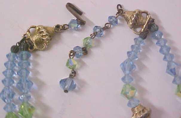 Austrian Crystal Choker Necklace & Earrings