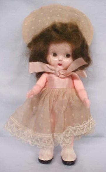 Doll Googly Eye Hard Plastic Adorable Outfit