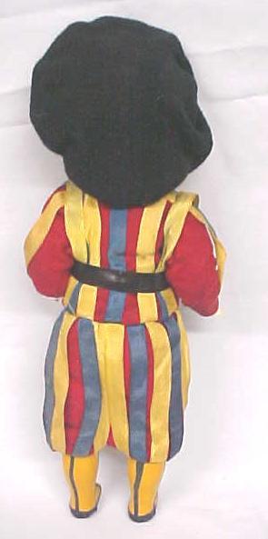 Celluloid Doll Palace Guard Colorful Uniform