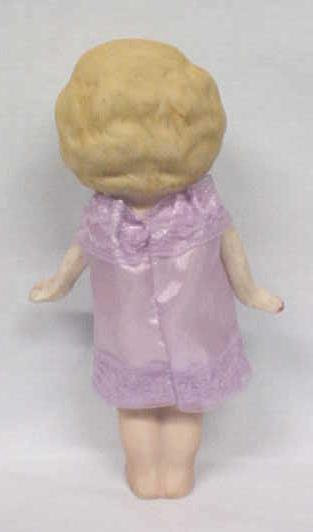 All Bisque Doll Flapper  Style Large Eyes