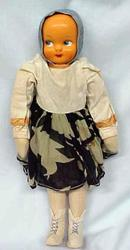 Large Celluloid Doll Poland Ethnic