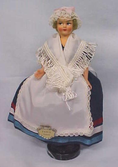 Ethnic Doll Eros Italy Miss Paris Vintage