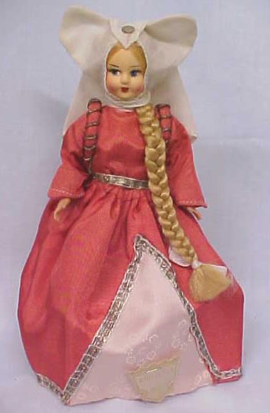 Ethnic Doll Italy Rapunzel Giulietta