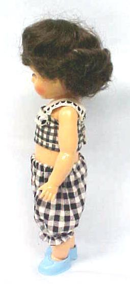 Doll Virga Pam Ginger  in Sun Suit + Glasses