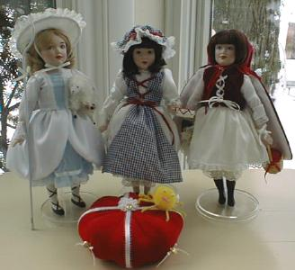 Danbury Mint Fairy Tale Doll Collection 12PC